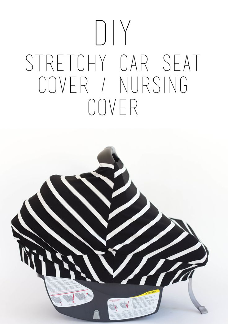 Do It Yourself Divas Diy Stretchy Car Seat Cover I Can