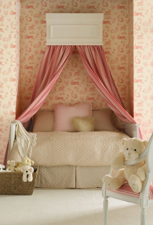 Big Girl Room- Simple and sophisticated.