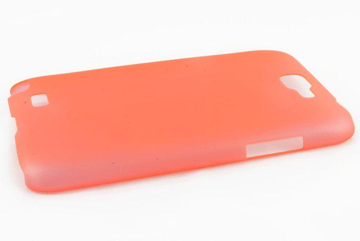 Чехол кейс TPU Samsung N7100 Galaxy Note 2 (оранжевый)  Чехол кейс TPU Samsung N7100 Galaxy Note 2 (оранжевый)