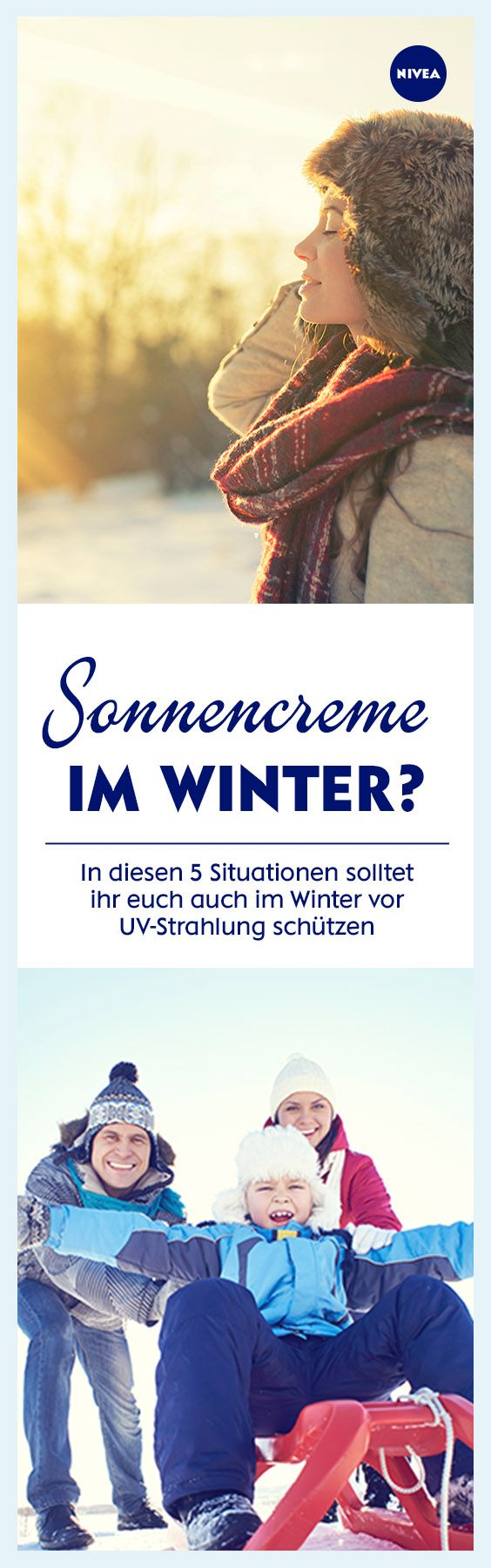 Sonnenschutz zur Winterzeit? Na klar. Warum und wann ihr auch in der kalten Jahreszeit eine Creme mit Lichtschutzfaktor auftragen solltet, lest ihr hier.