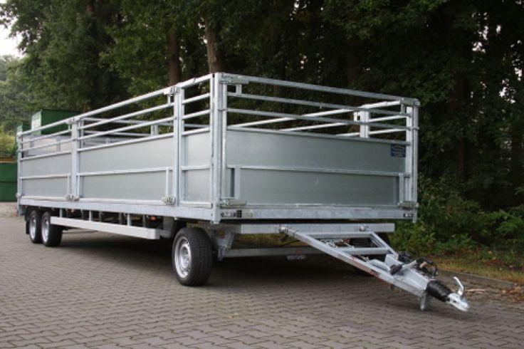 Schamelaanhangwagen, Speciaalbouw | Verkoop | De Strookappe Aanhangwagens Delden
