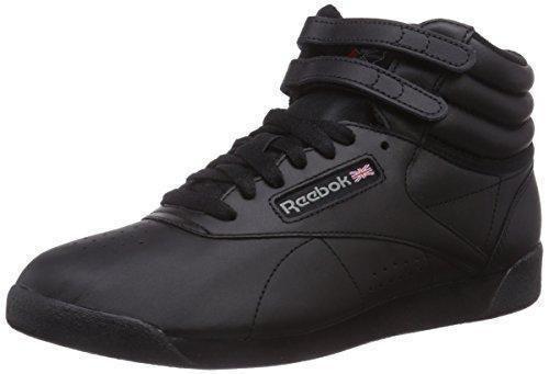 Oferta: 79.95€ Dto: -22%. Comprar Ofertas de Reebok Freestyle Hi - Zapatillas de cuero para mujer, color negro (int-black), talla 37.5 barato. ¡Mira las ofertas!