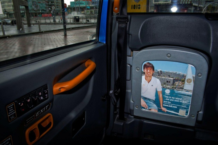 David Silva Campaign Around Europe: David Silva, Campaigns Inside, Inside Táxis, Taxi Advertising, Silva Campaigns