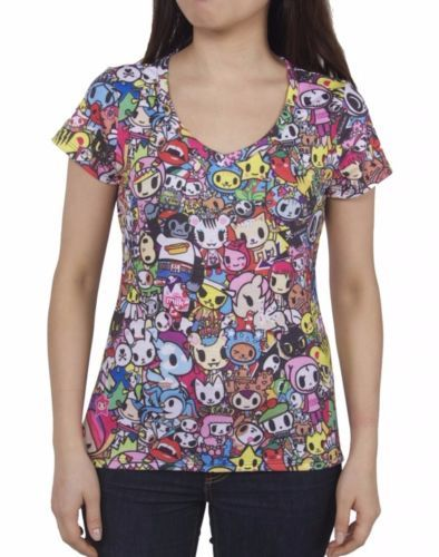 Tokidoki-Cocomo-All-Over-Print-Licensed-Junior-Shirt-S-XL