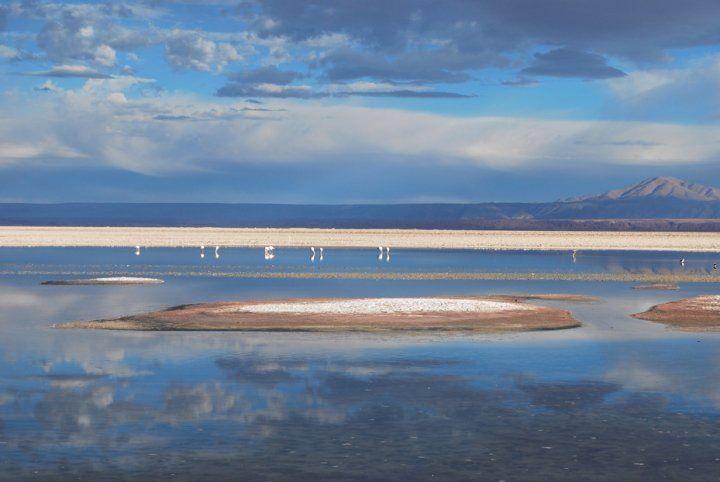Salar de Atacama, norte de Chile