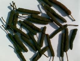Jamu Cabe Puyang. Bahan utama dari Jamu cabe puyang ini adalah cabe jawa atau cabe puyang atau lempuyang.