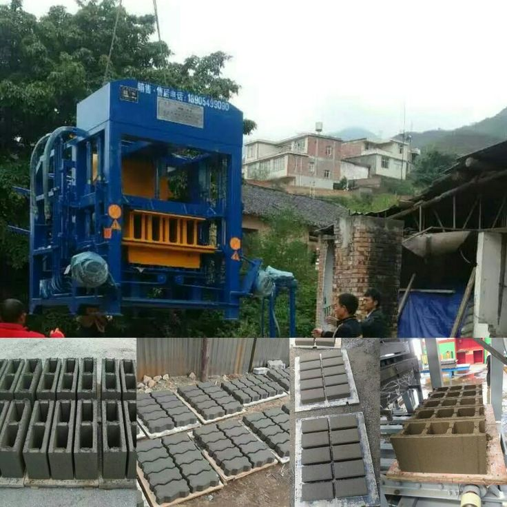 Concrete/cement brick making machinery for sales.   Contact Jerry Gao  WhatsApp/Viber:+86 15054985958