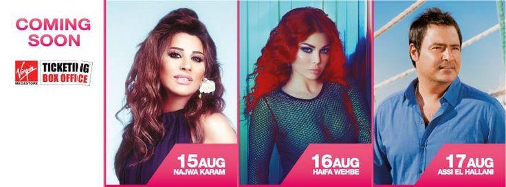 EL VERANO LE DA LA BIENVENIDA AL #FESTIVAL #KOBAYAT 2014 #Musica #Arabe #Entretenimiento #verano #Libano #ListenArabic
