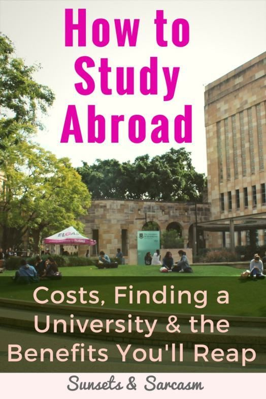 How to study abroad and find a student exchange program, plus the costs, how to find a university, the many benefits of studying abroad and the semester timings for study abroad Australia vs UK.