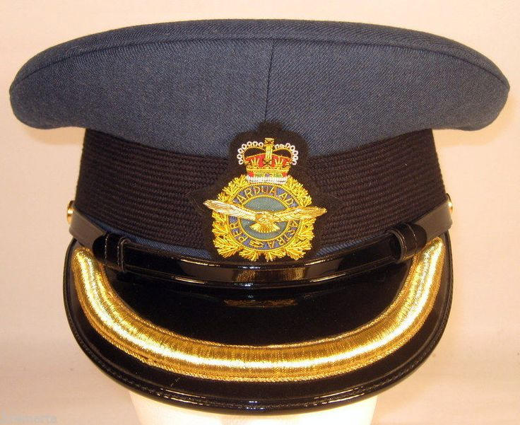 Canada Canadian Armed Forces Air Male Junior Officer Dress Hat Cap 7  56
