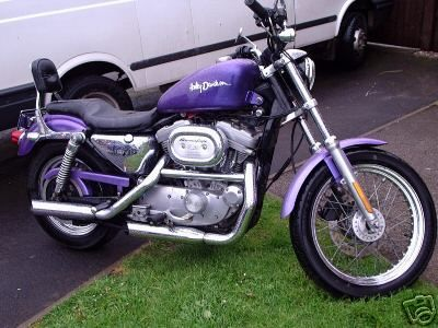 Purple Motorcycle |