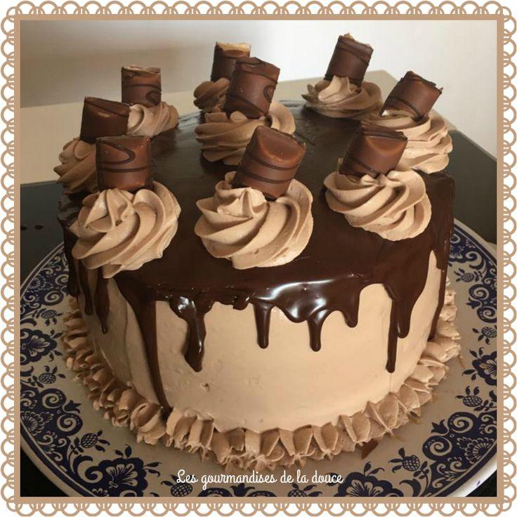 Layer cake kinder bueno g teaux g teaux tages et simple - Gateau kinder bueno facile ...