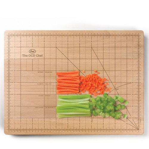 Obsessive Chef Chopping Board | Kitchen Gadgets by Fred & Friends