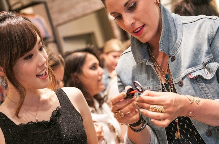 Making DIY key necklaces with DIY guru Erica of P.S.- I made this... #FNO: Key Necklaces, Fossil Diy, Fno Fossil, Photo, Diy Projects