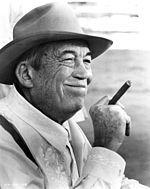 John Huston - writer, director, actor, and Bogart's close friend.                             Humphrey Bogart - Wikipedia