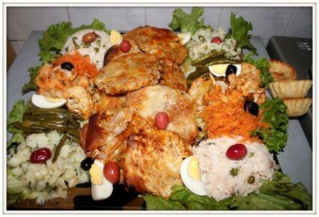 عراضتي العشية لجاراتي غير قبلو عليا 3rada Maghribiya Food Chicken Meat