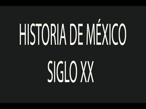 Resumen de Historia de México siglo XX, Guia de Examen de Preparatoria A...