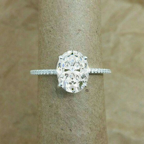 Design stunning oval White sapphire.. 2carat natural white sapphire from Ceylon.. Natural unheated.Best alternative for diamond. SALE End soon.. Act now..