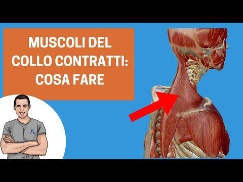 Muscoli del collo sempre contratti: cosa fare - YouTube