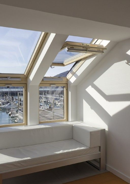 VELUX Vertical Window Element idea for sitting room