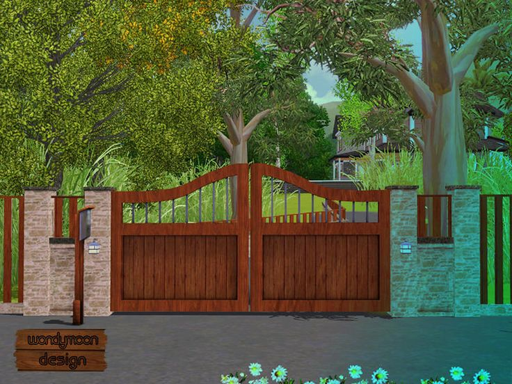 10 best ideas about the sims 3 cc fences gates on for Garden design sims 4