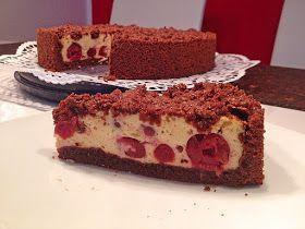 Rezeptwelt: Schoko – Streuselkuchen mit Quark – Kirschfüllung – #Kirschfüllung…