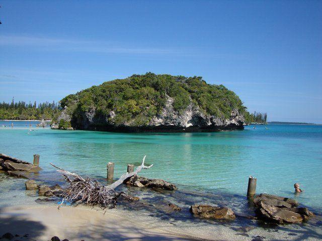 Kanumera's Rock - Isle of Pines ,New Caledonia
