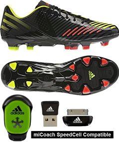 Adidas Predator LZ TRX FG SL Soccer Cleats (Black/Electricity/Infrared) - soccercorner.com