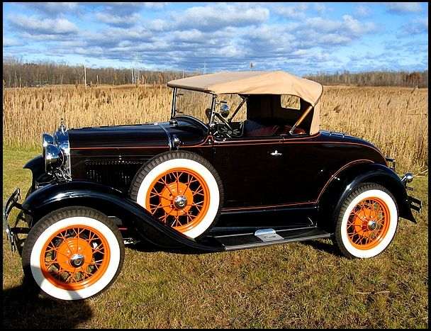 Auction Cars For Sale >> 1930 Ford Model A Deluxe Rumble Seat Roadster for sale by Mecum Auction | 1921-1930 Cars ...