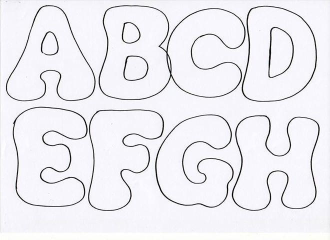 letras fieltro