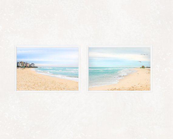 coastal artwork original artwork print Sea and sand watercolour painting Home decor hand made nautical gift Printable wall art