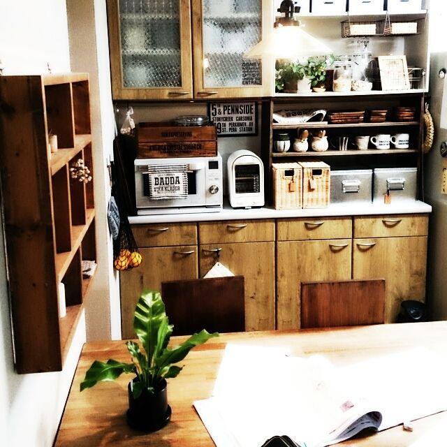 植物/M224さん♡/食器棚/キッチン収納/Kitchenのインテリア実例 - 2015-03-02 21:20:57 | RoomClip(ルームクリップ)