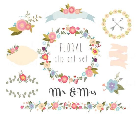 Hey, I found this really awesome Etsy listing at https://www.etsy.com/listing/195827144/floral-clipart-wedding-clipart-digital