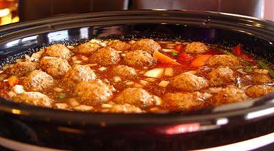 Meatball Minestrone Soup