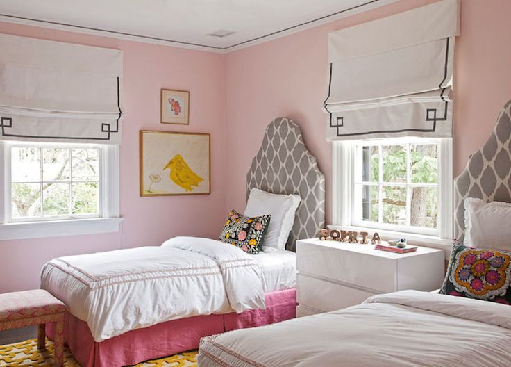 Headboards Ellison Pinterest White Ceiling Pink