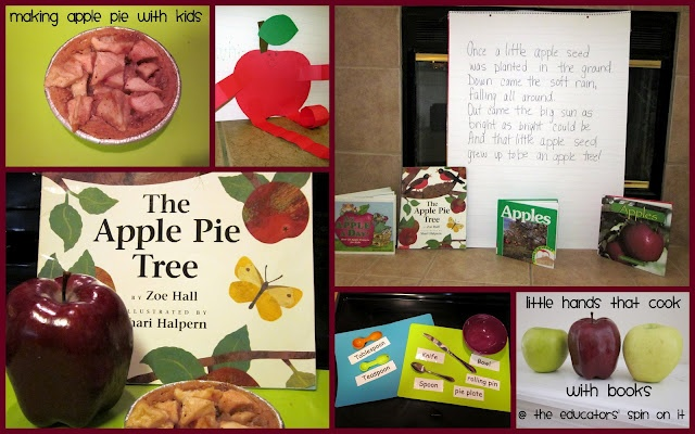 PreK & Kindergarten Apple Theme Ideas
