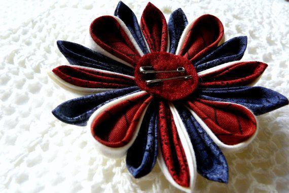 Punk Union Jack kanzashi headband by ImwtheBand