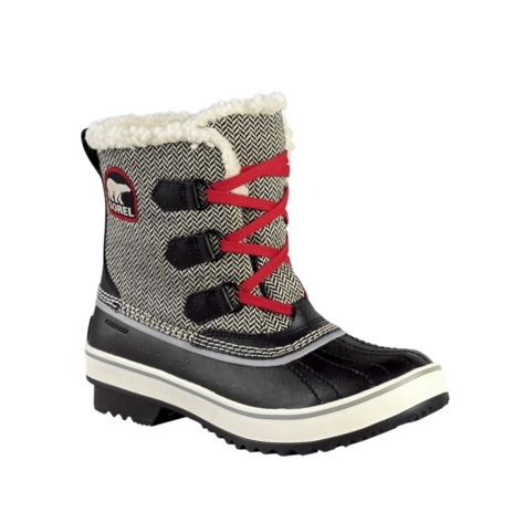 Shop for Womens Sorel Tivoli Duck Boot in Black at Journeys Shoes. Shop today for the hottest brands in mens shoes and womens shoes at Journeys.com.Waterproof boots perfect for cold-weather work or play, the Tivoli features a Thinsulate full fleece lining, a full-length fleece liner, a removable EVA footbed, and a molded rubber outsole for traction. Available exclusively at Journeys and Shi!