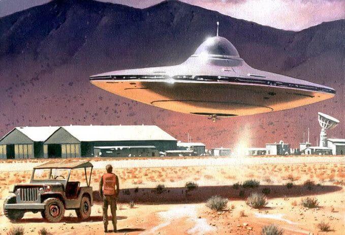 Astronaut Gordon Cooper: I witnessed a UFO Landing in 1957