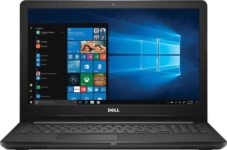 "Popular on Best Buy : Dell - Inspiron 15.6"" Touch-Screen Laptop - Intel Core i5 - 8GB Memory - 2TB Hard Drive - Black"