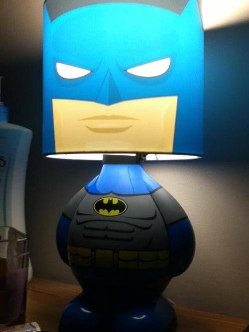 Cool Batman lamp.