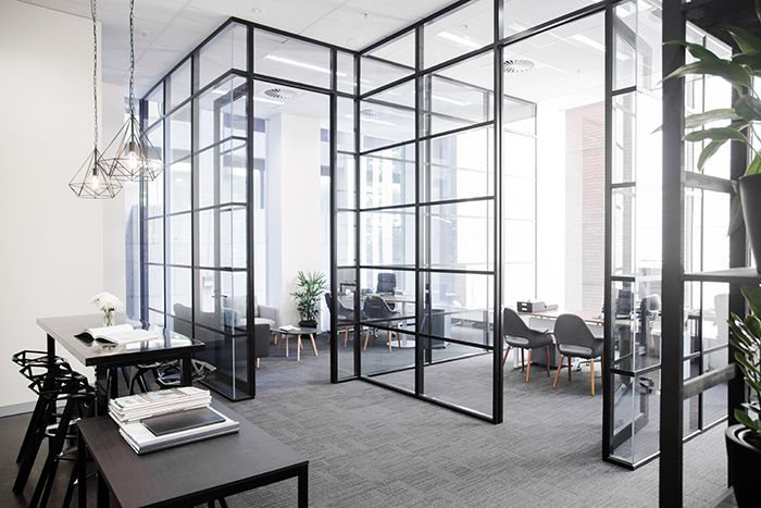 Beulah International Melbourne - Office glass partition