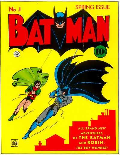 25 best batman covers images on pinterest batman comics comics after his debut in detective comics in march one year later in april 1940 the caped crusader got his own comic book title bat man along with robin the boy fandeluxe Images