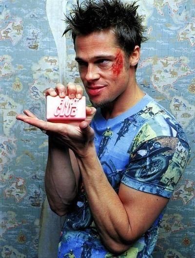 Fight Club ..... Brad Pitt