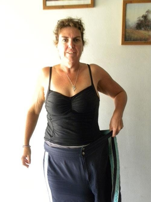 A huge inspiration for me Michelle lost over 50 kgs on 12 wbt xx