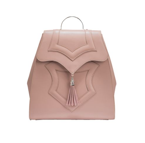 Palmette Nude Backpack - OKHTEIN