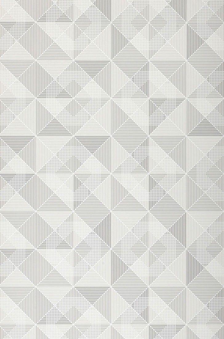 Ninazu | Papel de parede geométrico | Padrões de papel de parede | Papel de parede dos anos 70