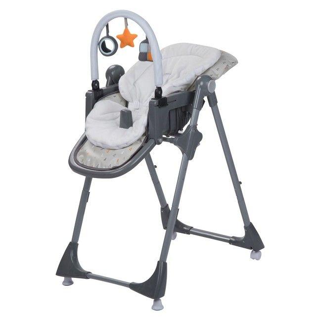 Chaise Haute Kiwi 3en1 Warm Grey Gris Safety First La Redoute Chaise Haute Chaise Haute Bebe Equipements Bebe