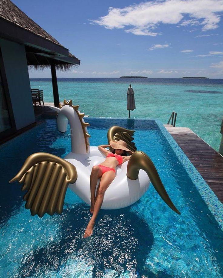 Anantara Kihavah Villas - Kudarikilu Maldives  Photo by: @kobechanel  See it first on @TheGoldList  #TheGoldList by thegoldlist