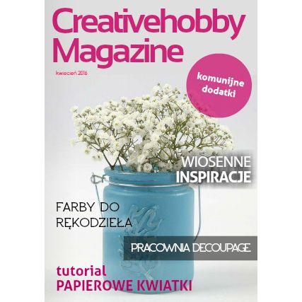 Oto kwietniowy numer Creativehobby Magazine, pełen wiosennych inspiracji, porad oraz tutoriali :) http://bit.ly/1qvrQG7 #cardmaking #scrapbooking #decoupage